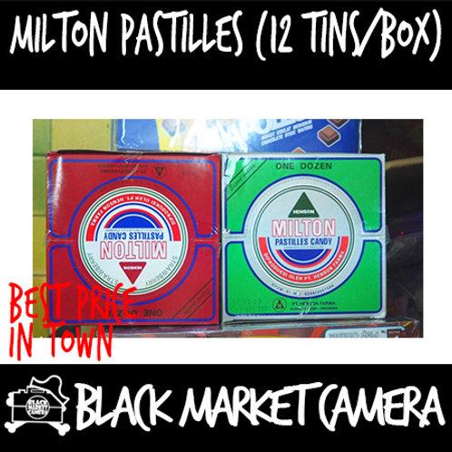 Milton Pastilles (Bulk Quantity, 12Tins/Box)