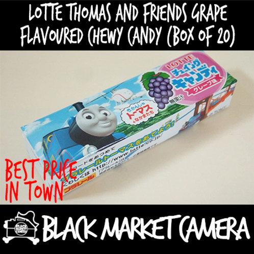 Lotte Thomas & Friends Chewy Candy (Grape) (Bulk Quantity, 20 sticks/Box)