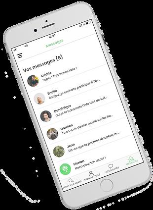 Réseau social La Mano Verde - Application AMAP et consommation locale