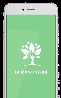 Accueil application La Mano Verde - AMAP et consommation locale
