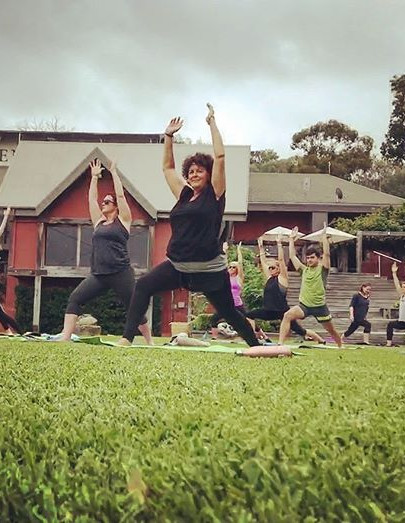 Yoga in the Vines Holleydene