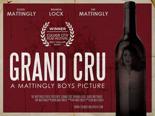 Grand Cru Wins at Culver City Film Festival!