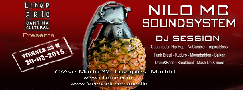 Nilo MC Soundsystem en Madrid