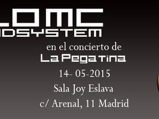 Nilo MC Soundsystem en el concierto de La Pegatina