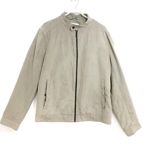 Zara Swede Look Jacket Size L
