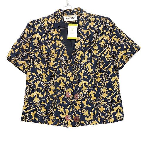 Electre Woman's Jacket Short Sleeve Size L #157