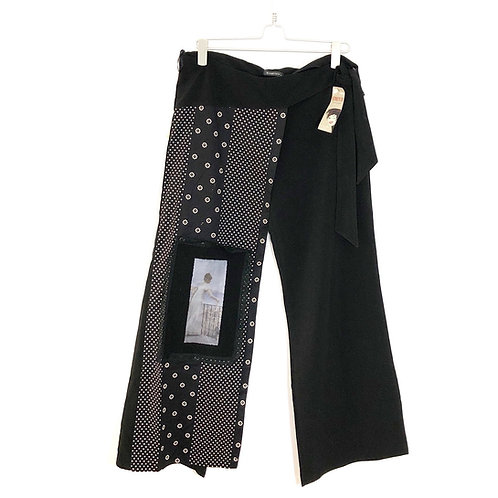 Strech Black Trousers Size 5