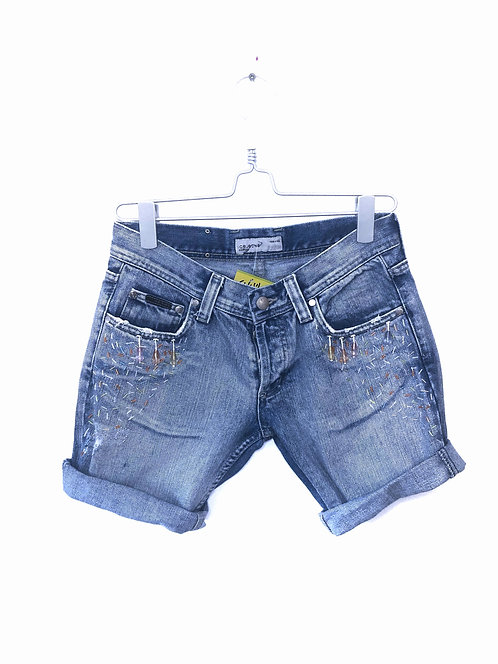 Light Blue jeans shorts