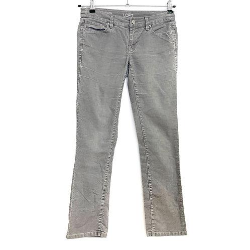 Ann Taylor Loft Corduroy Trousers Size 26