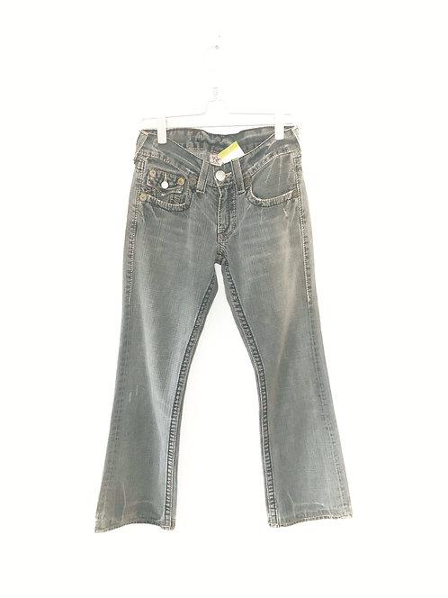 True Religion  Vintage Jeans Trousers Size 30 Grey