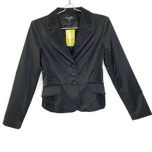 Ice Cube Black Woman's Jacket Size 38 #202