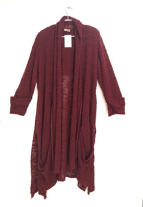 Nefartiti by Edna Paz Knitted Oversize Long Sweater Size L