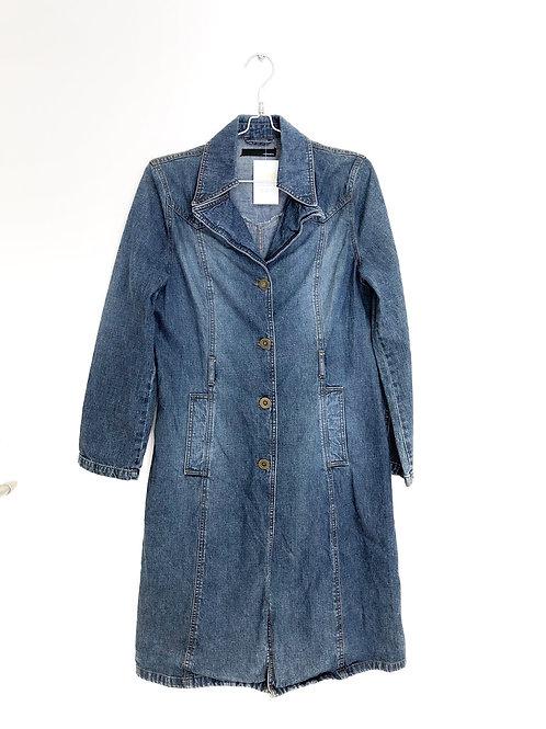 Long Sleeve Jeans Dress