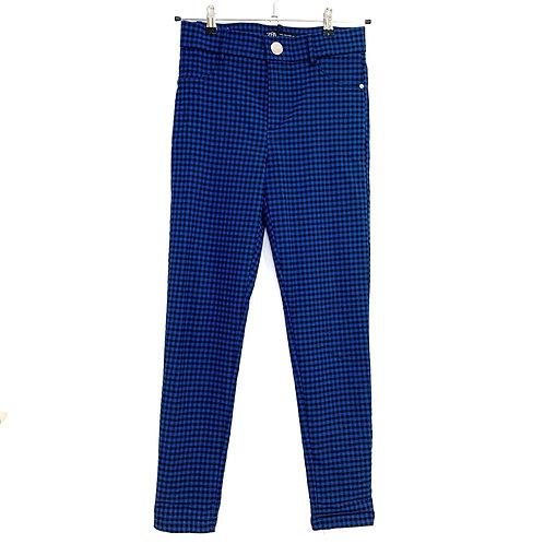 Zara Check Trousers Size M
