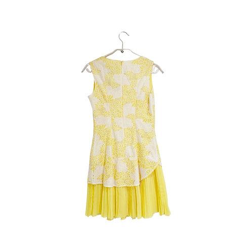 Ice Cube Yellow Lace Dress Size 36
