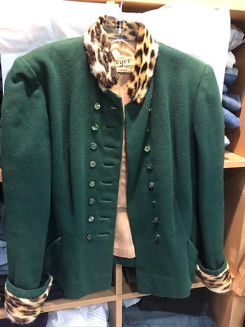 Vintage 1970's  Green Jacket