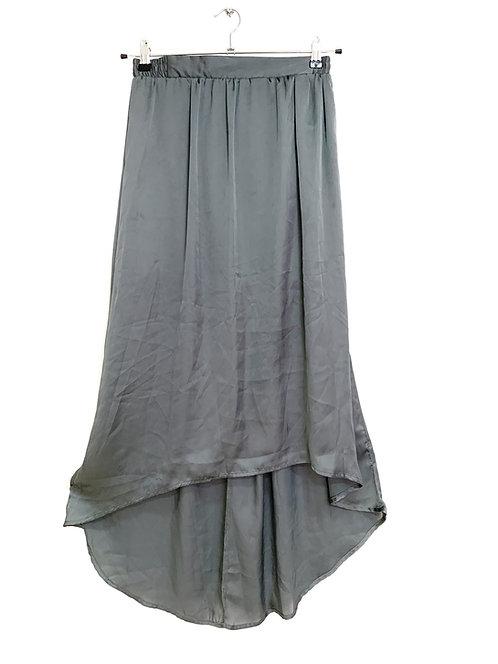 Cotton On Elasticated Waist Grey Skirt Size XS/S