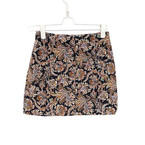 Zara Paisley Mini Skirt Size XS