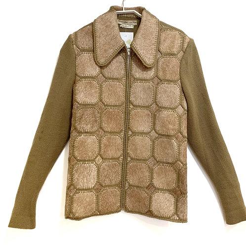 Schneidman Leather Jacket/Cardigan Size S/M