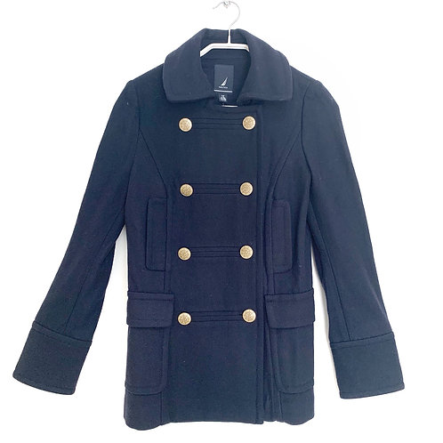 Nautica Double Breasted Jacket Navy Size XS