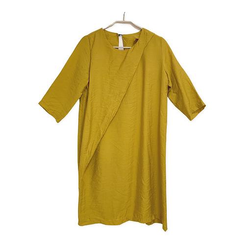 Assaf Peleg Front Rap 3/4 Sleeve Dress Size 38