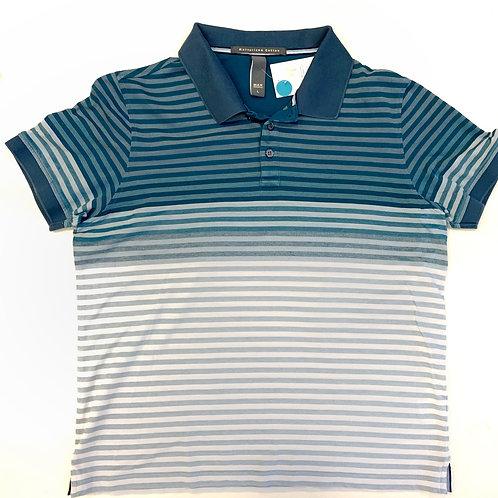 Max Morreti Stripe Polo Shirt Size L