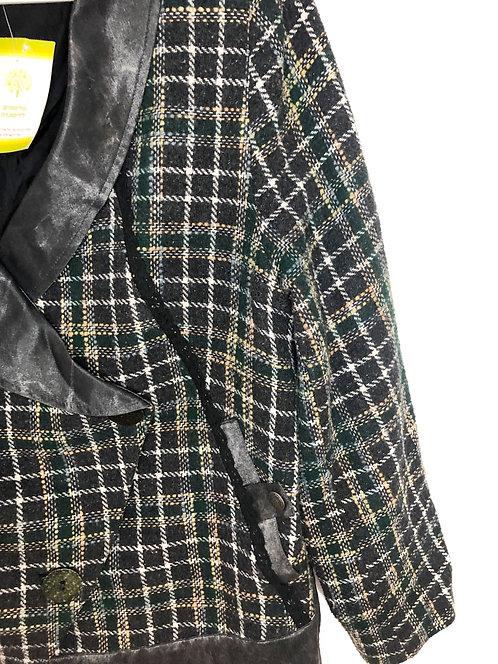 Isha Isha Check Jacket Size 3