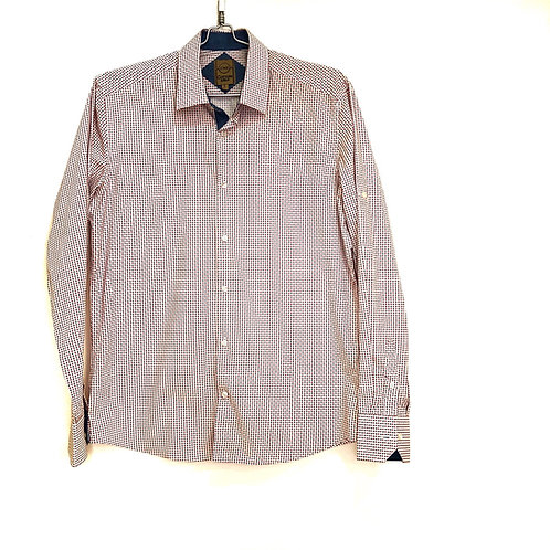 Cotton & Silk Men's Long Sleeve Shirt Size L #1118