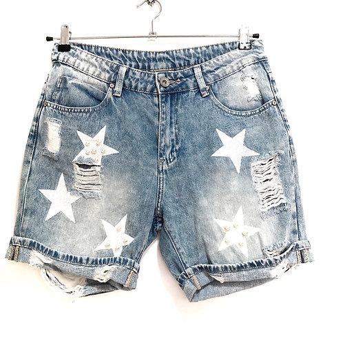 Blue Jeans Shorts Size M