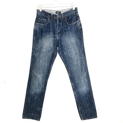 Dolce & Gabbana Loose Straight Fit Men's Dark Blue Jeans Size 31 #1124