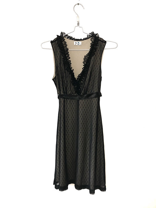 Lace Black Dress Size M