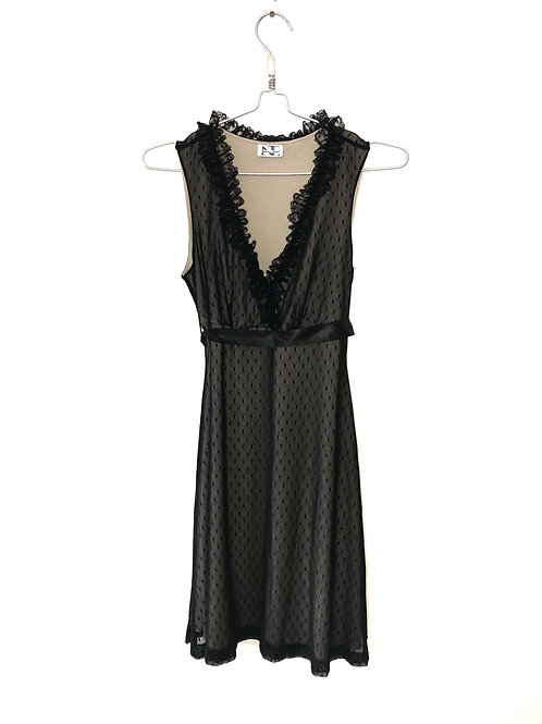 Lace Black Dress Size M