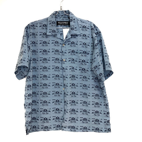 Men's Short Sleeve Shirt Blue