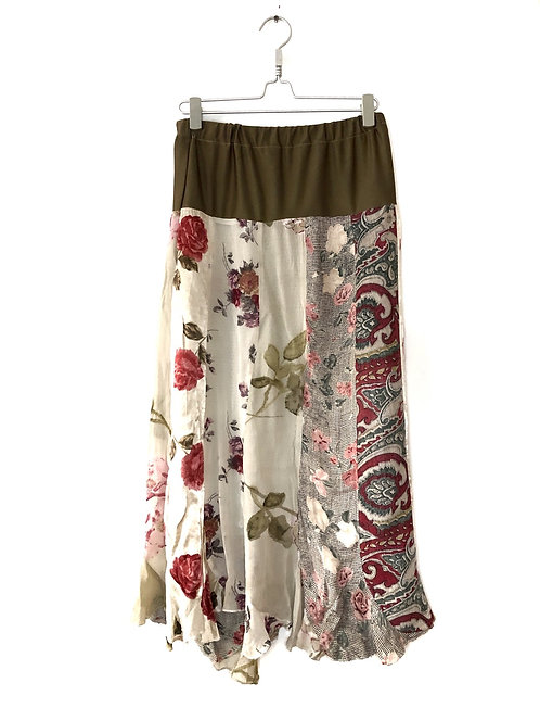 Hand Made Floral Skirt