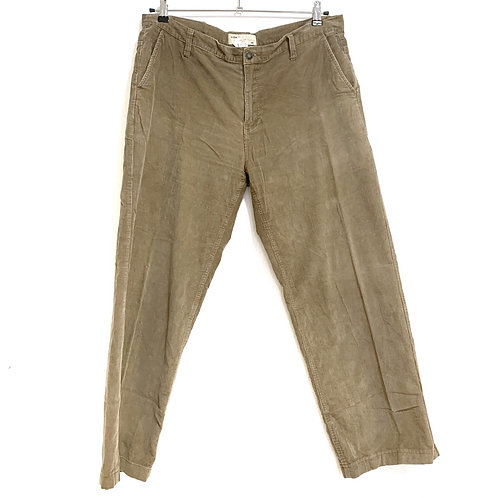 U.Zip Men's Corduroy Trousers Size 48