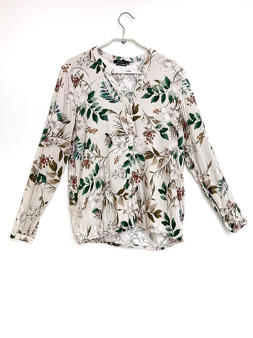 Reserved Floral Long Sleeve Shirt size 40