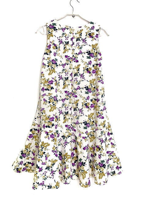 Floral Summer Dress  Tent Style Size 42