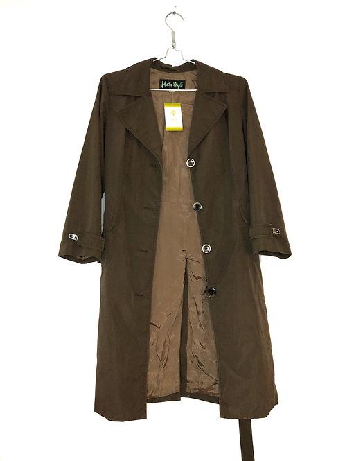 Woman's Raincoat Brown