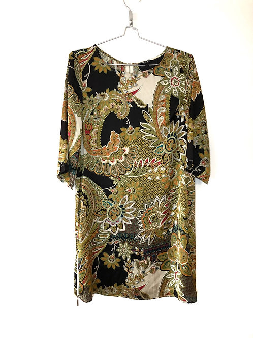 Vegas Collection 3/4 Sleeve Length Dress Size L