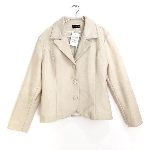 Capital Jacket Off White Size M