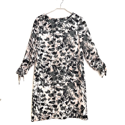 H & M Abstract 3/4 Sleeve Length Dress Size 38