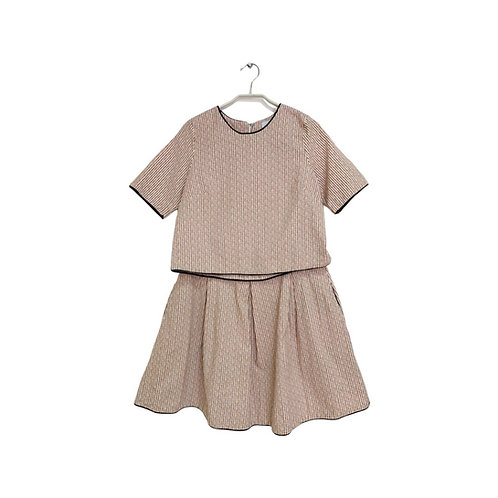 Chaya Hecht Skirt and Top Set Size 42