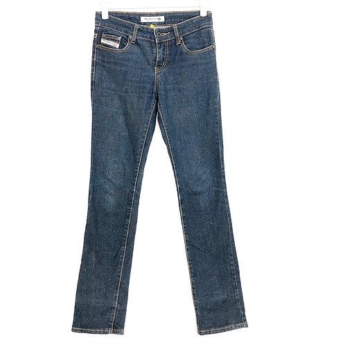 Diesel Woman's Jeans Low Waist Size 38 #166