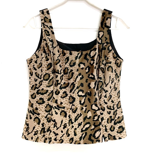 Nina Collection Leopard Skin Vest