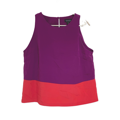 Topshop Sleeveless Top Size 42