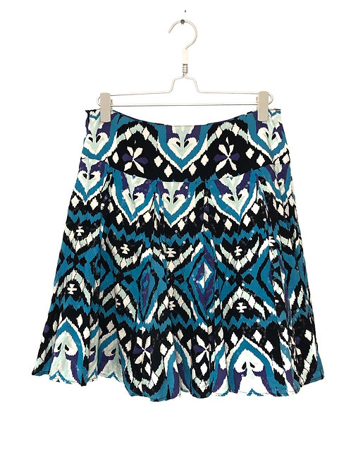 Skirt with Sequences Multi Color