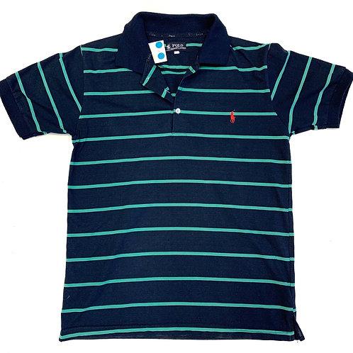 Ralph Loren Stripe Polo Shirt Size L