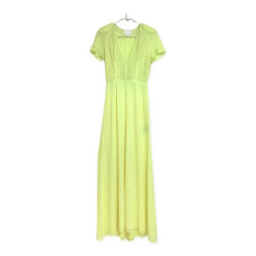 H & M Evening  V Neck Long Dress Size 34