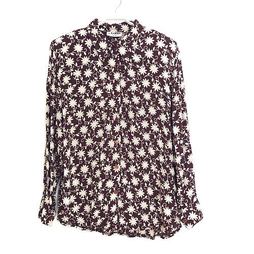 McKarden Floral Long Sleeve Shirt Size XL