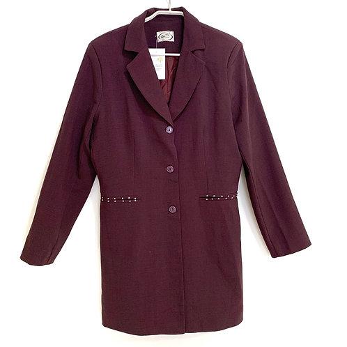 Vintage Lei Fashion 3/4 jacket Size XL